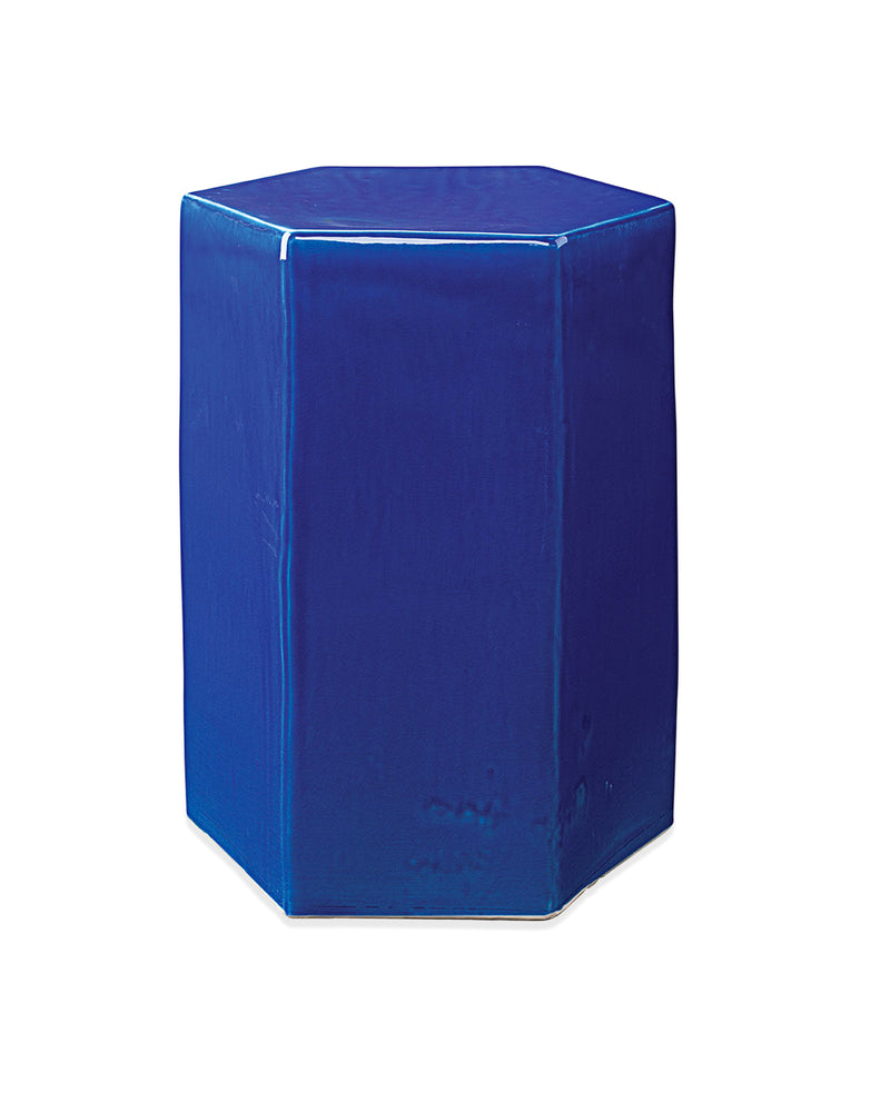 small, cobalt blue | porto side table front