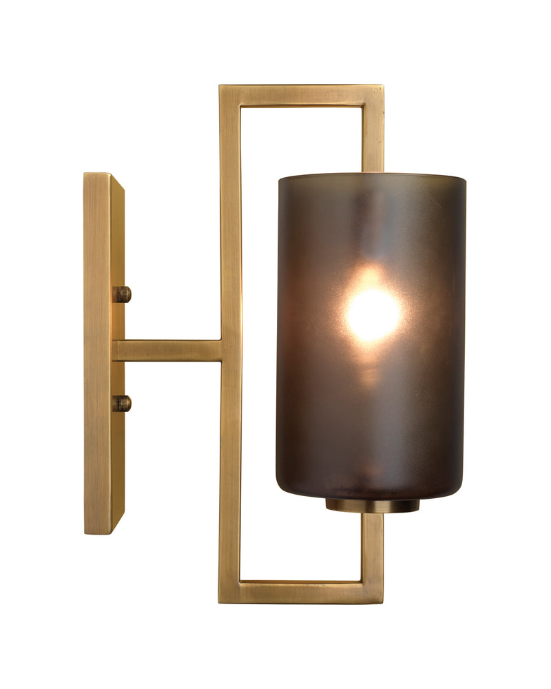 blueprint wall sconce