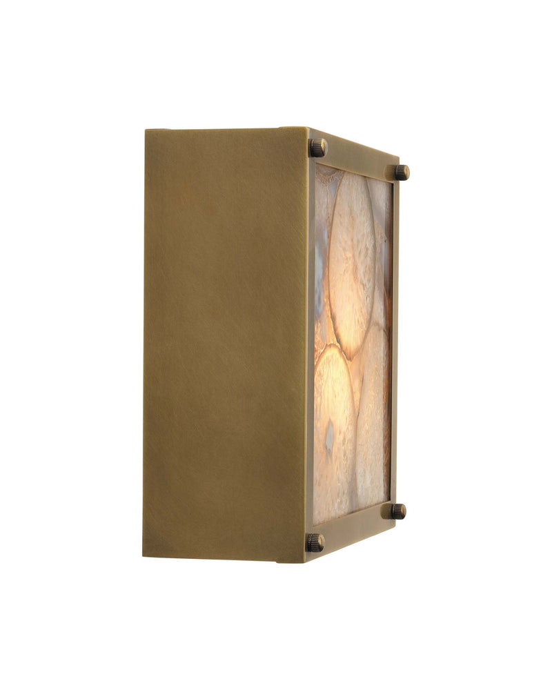 leopold framed square sconce