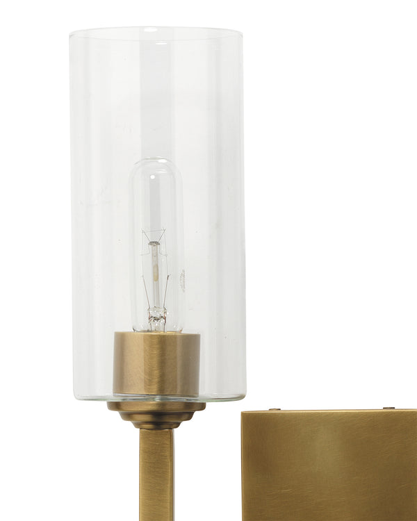 Linear Double Sconce