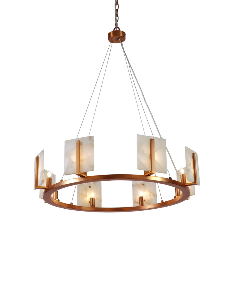 large halo chandelier