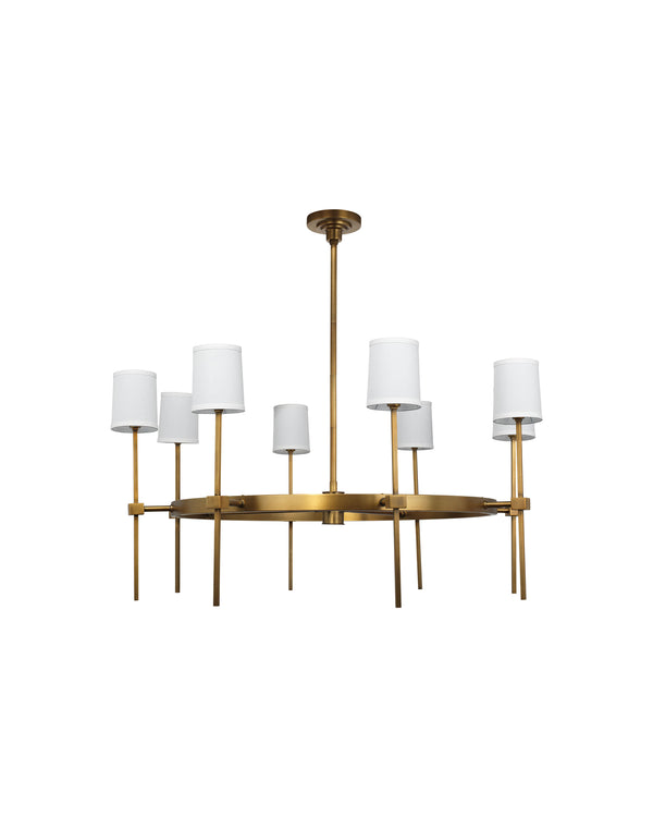 Minerva 8 Light Chandelier