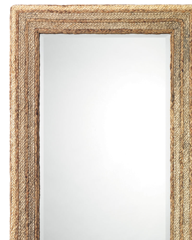 evergreen rectangle mirror