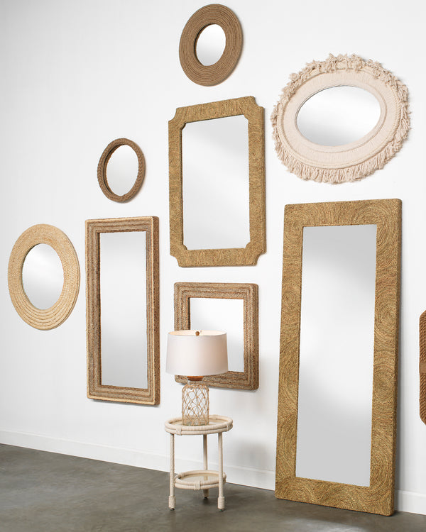Evergreen Square Mirror