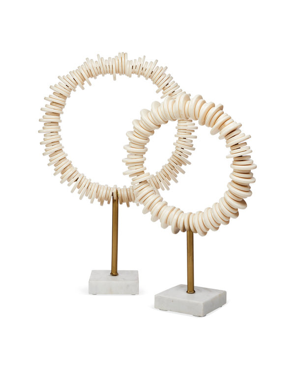 Arena Ring Sculptures (Set Of Two)
