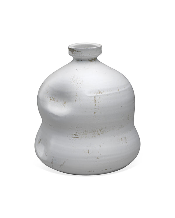 White Dimple Jug