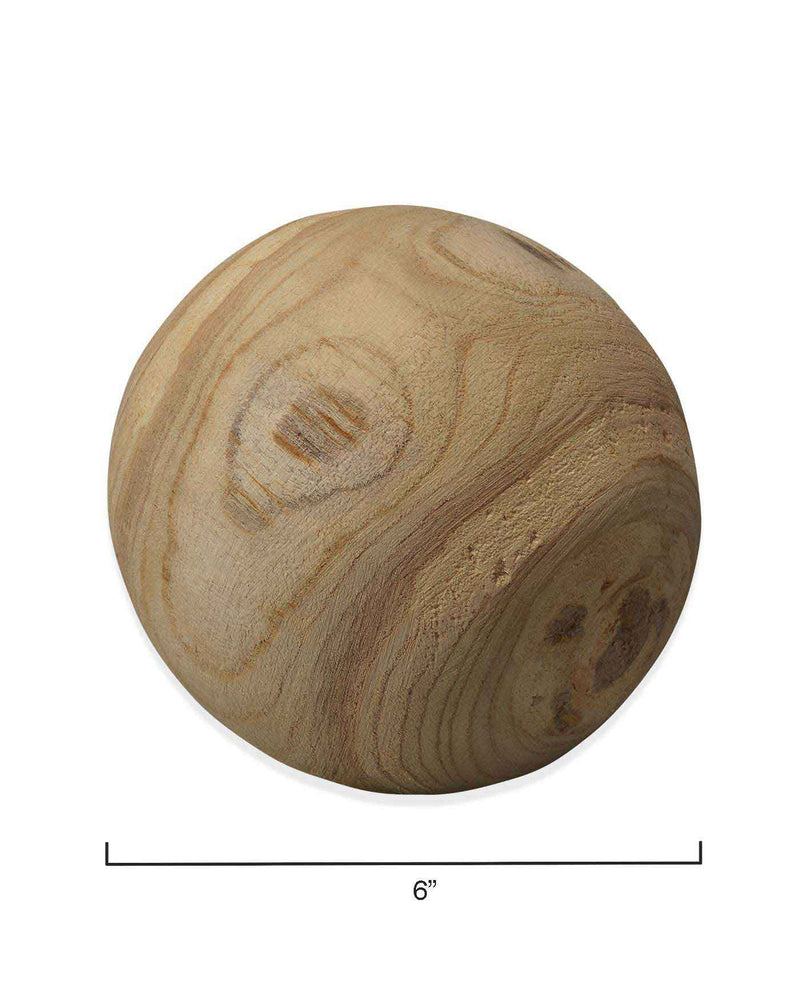 malibu wood balls (set of three)