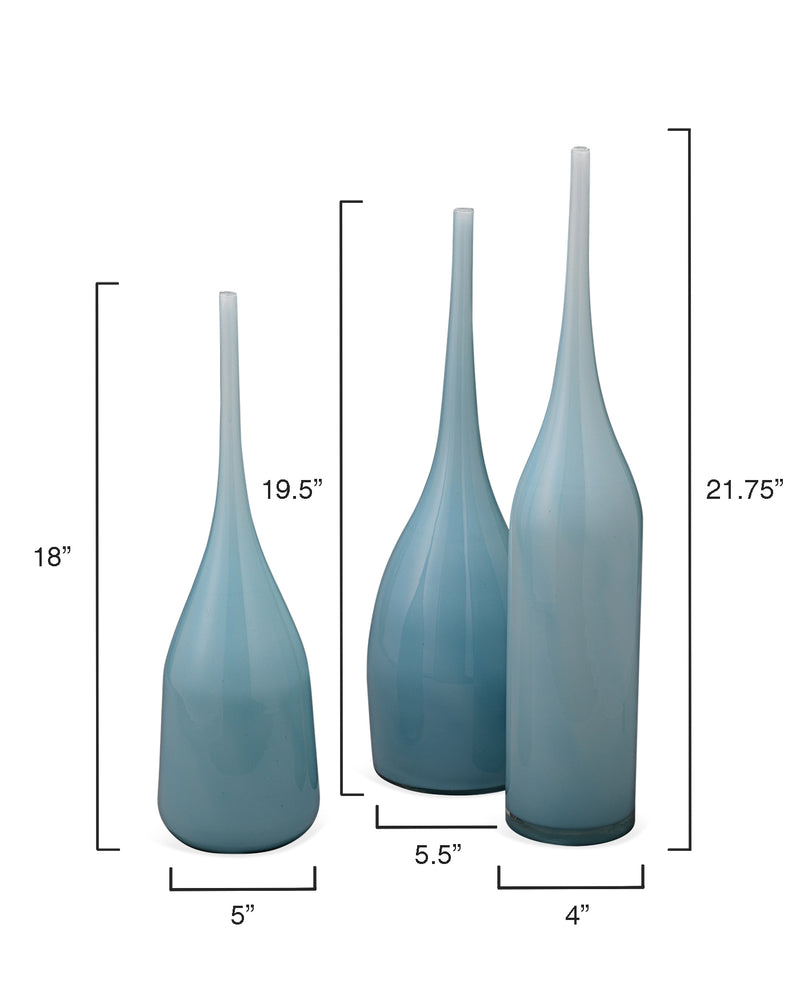 pixie vases (set of three)