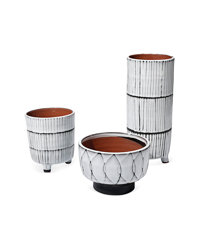 striae vessels (set of three)