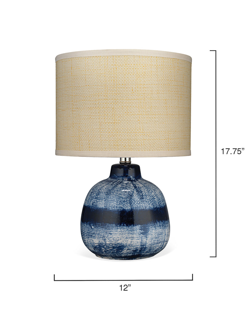 batik table lamp