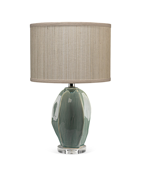 Green Hermosa Table Lamp