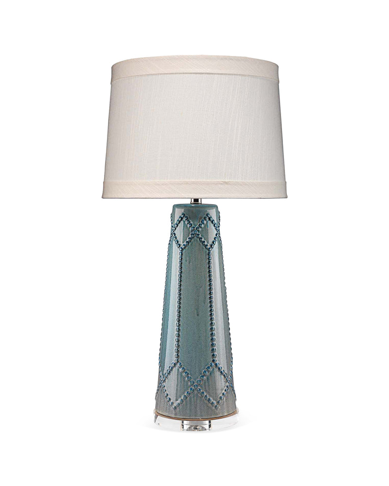 hobnail table lamp