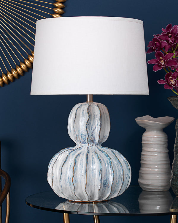 Oceane Gourd Table Lamp
