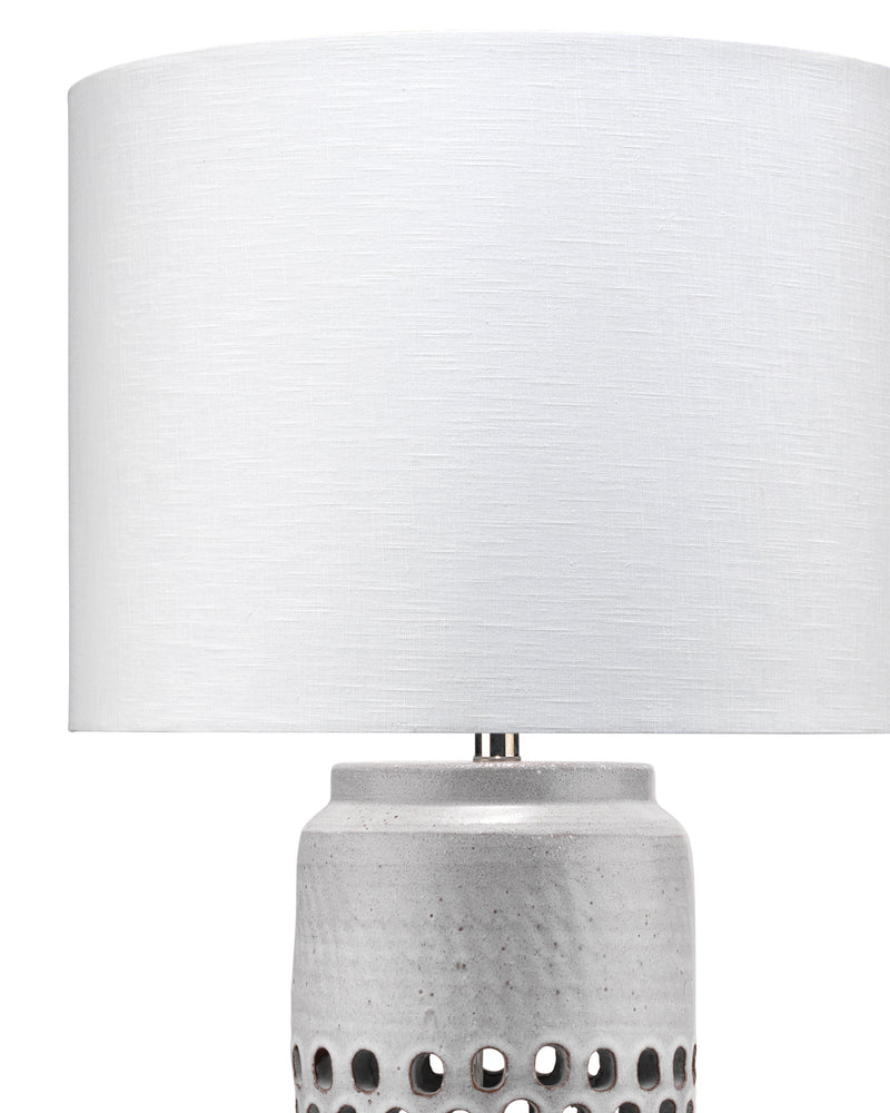 perforated table lamp