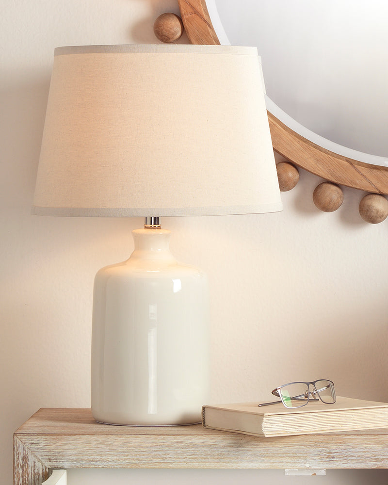milk jug table lamp