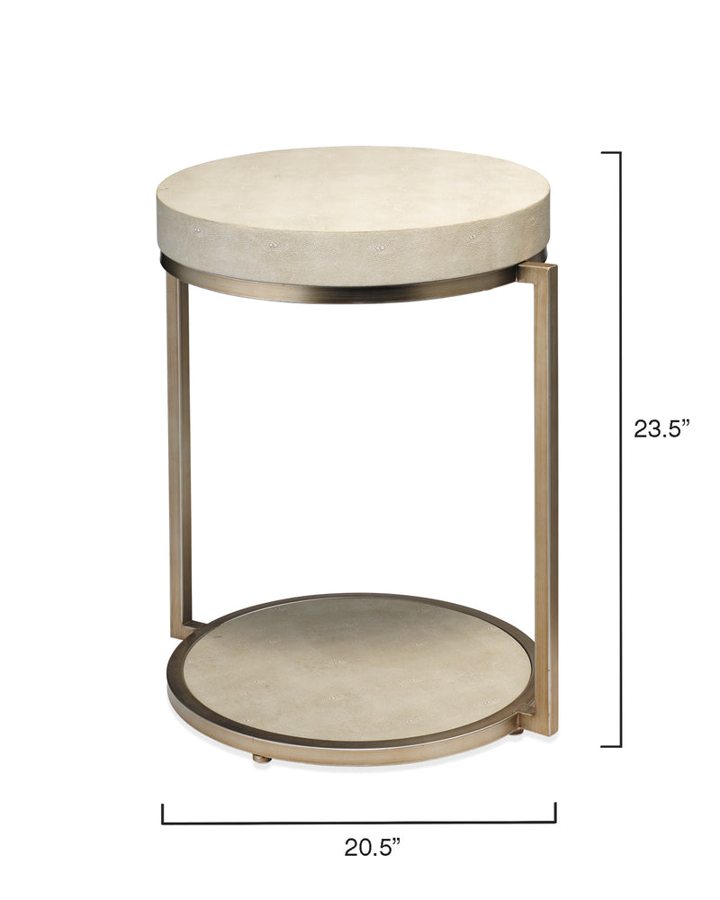 chester round side table