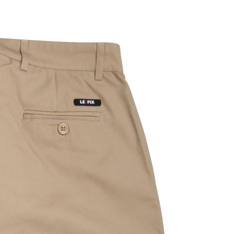 LE FIX REGULAR COTTON PANTS