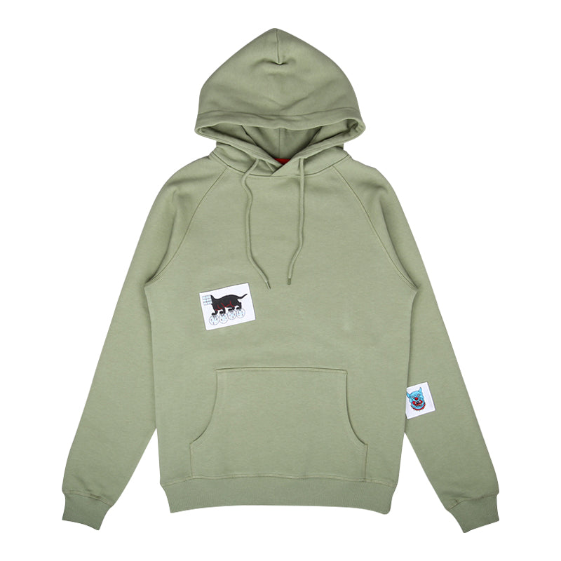 LE FIX X KC PATCH HOODIE