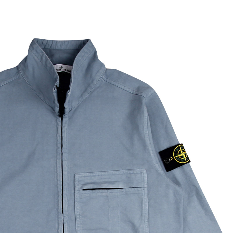 STONE ISLAND POCKET ZIP SWEATSHIRT
