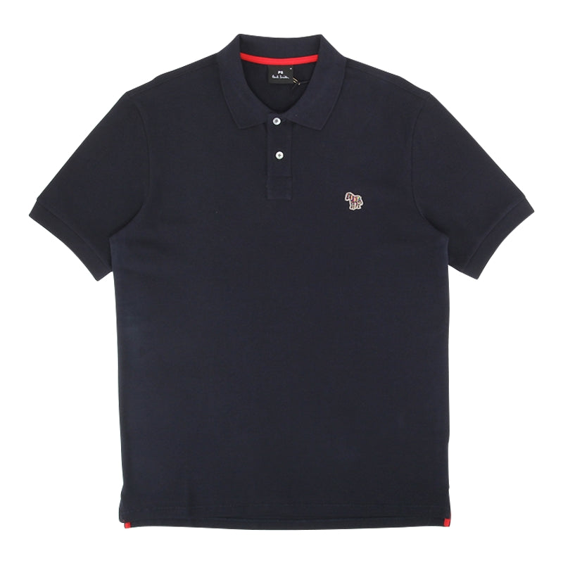 PAUL SMITH REGULAR FIT ZEBRA POLO
