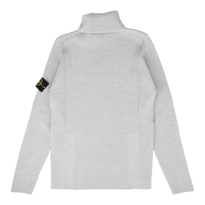 STONE ISLAND ENGLISH RIB TURTLENECK