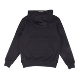 C.P. COMPANY DIAGONAL RAISED FLEECE LENS HOODIE