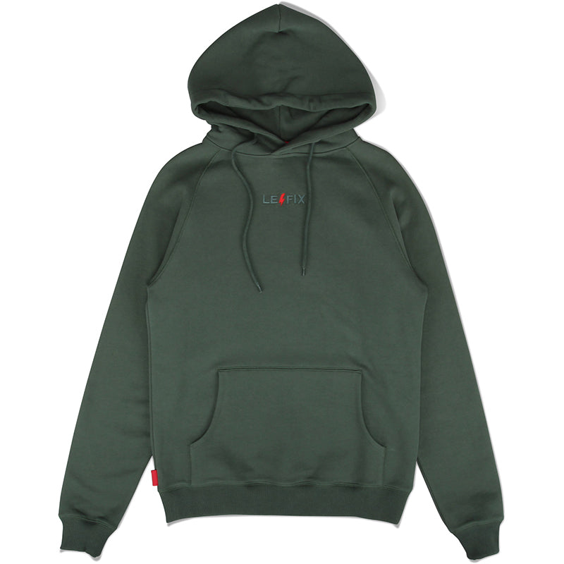 LE FIX LIGHTNING EMBROIDERED HOODIE