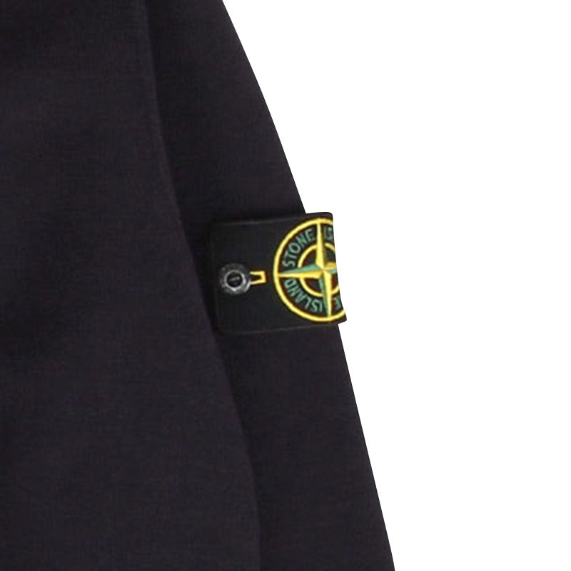 STONE ISLAND STRETCH WOOL ZIP CARDIGAN