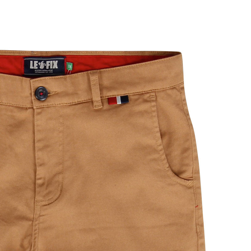 LE FIX CHINO SHORTS