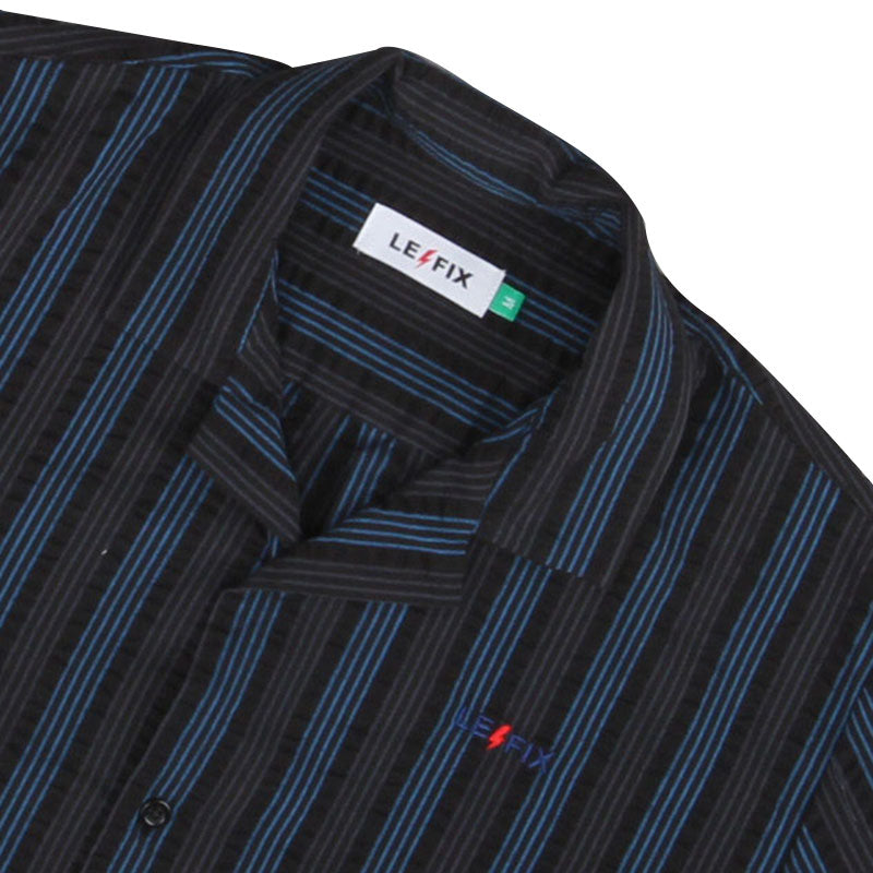 LE FIX VERTICAL STRIPE SHIRT