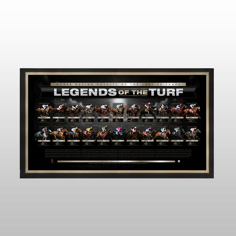 Legends of the Turf- unsigned sportsprint
