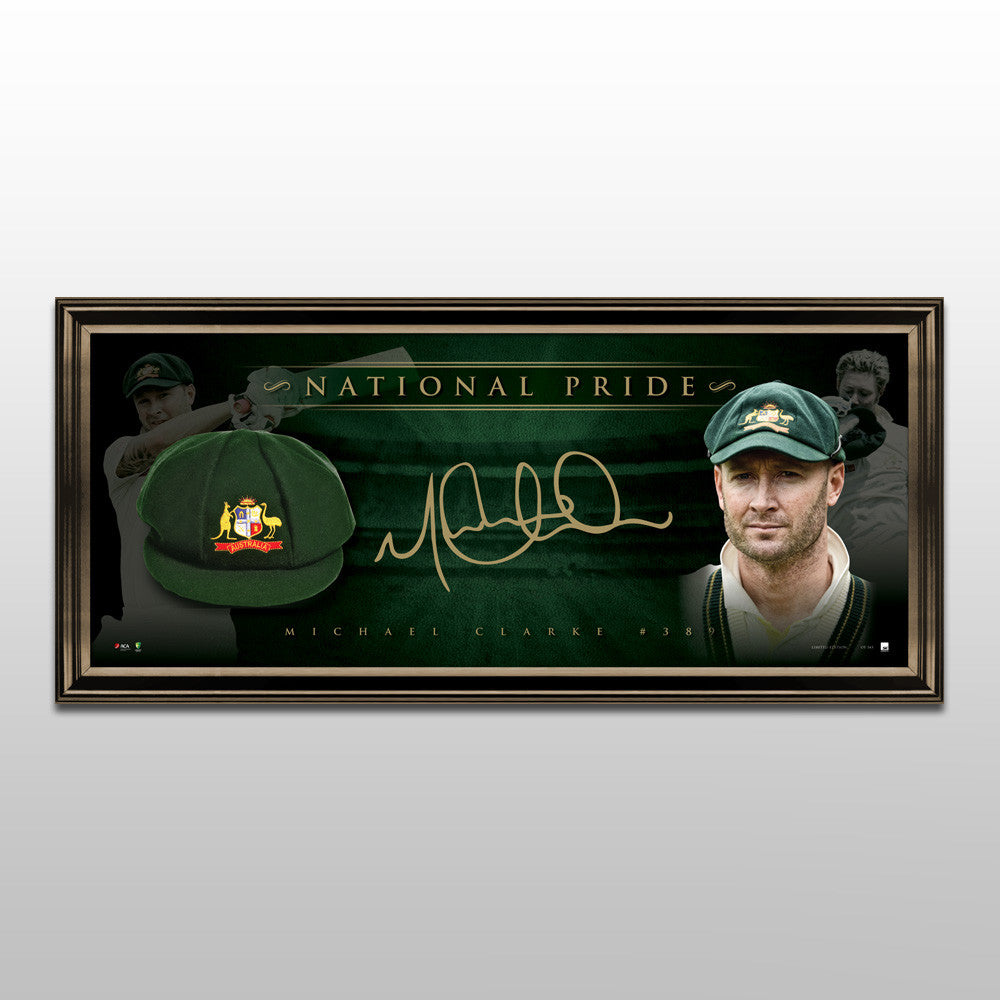 NATIONAL PRIDE – SIGNED BAGGY GREEN TRIBUTE LITHOGRAPH