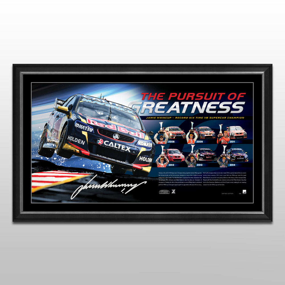 THE PURSUIT OF GREATNESS - JAMIE WHINCUP