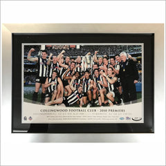 Collingwood 2010 Premiers Celebration photo