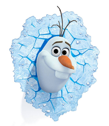 Frozen - Olaf 3D Light