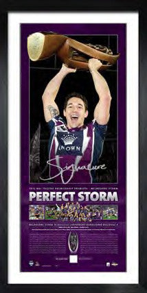 2012 NRL Deluxe Premiership Litho - Billy Slater