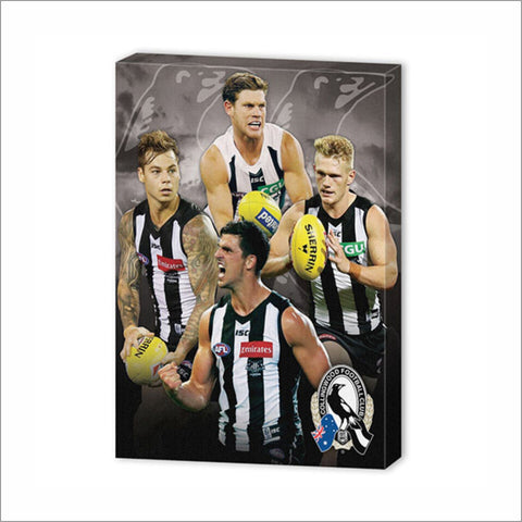 COLLINGWOOD PLAYER CANVAS