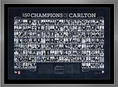 150 Champions of Carlton Lithograph – Signed by Stephen Kernahan