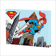 SUPERMAN FLYING CANVAS