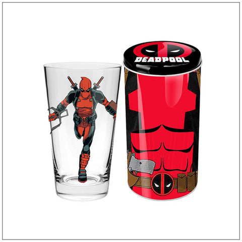 Deadpool Collector Glass in Tin