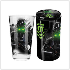DEATH TROOPER Collector Glass in Tin