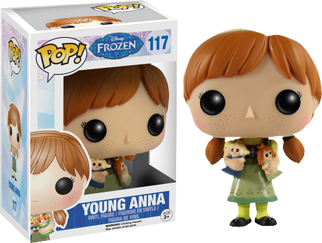 Frozen - Anna Pop! Vinyl