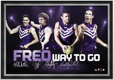 Fremantle Dockers 4 Player print
