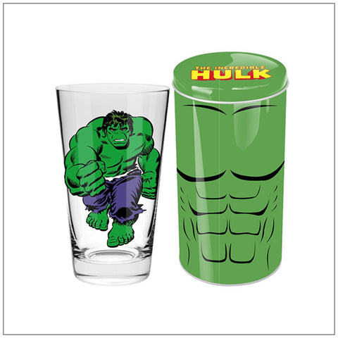 THE HULK Collector Glass in Tin