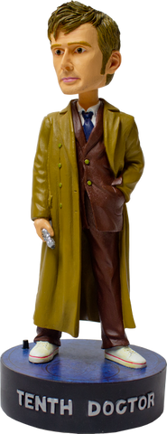 Doctor Who - 10th Doctor Bobblehead with Light