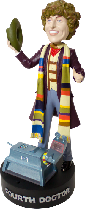 Doctor Who - 4th Doctor with Light-up K-9 Bobblehead