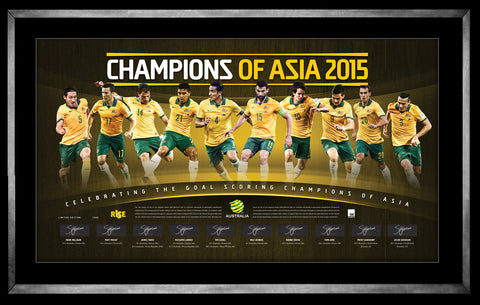 THE SOCCEROOS – THE CHAMPIONS OF ASIA