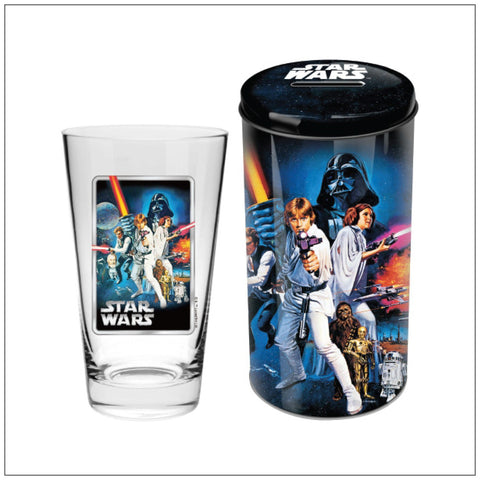 STAR WARS GROUP Collector Glass in Tin