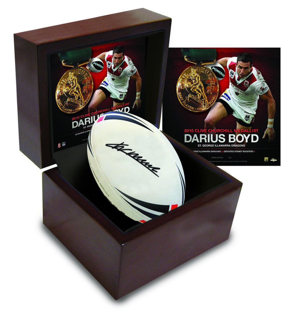 Clive Churchill Collectable Ball