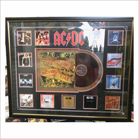 ACDC TNT Signed Album